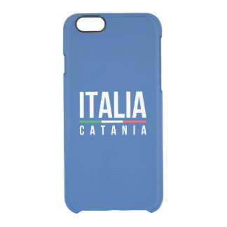 Catania Italia Clear iPhone 6/6S Case