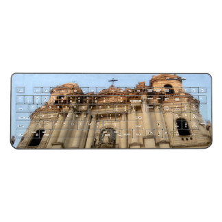 Catania Italy Cathedral Wireless Keyboard
