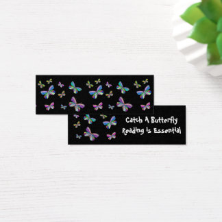 Catch a Butterfly Bookmarks Mini Business Card