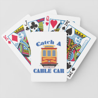 Catch A Cable Car Bicycle Playing Cards