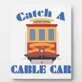 Catch A Cable Car Photo Plaque