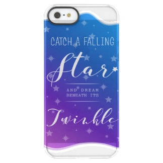 Catch a Falling Star Permafrost® iPhone SE/5/5s Case