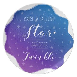 Catch a Falling Star Plate