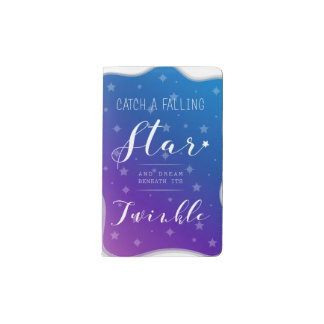 Catch a Falling Star Pocket Moleskine Notebook