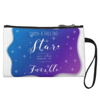 Catch a Falling Star Wristlet