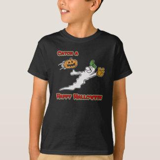 Catch a Happy Halloween Dark T-Shirt