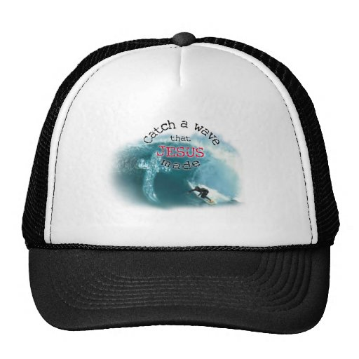 Catch a Wave Mesh Hat