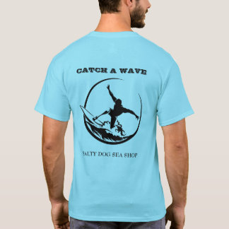 Catch A Wave Surfer Dude Men's T-Shirt