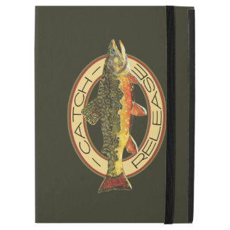 """Catch and Release Fishing for Trout iPad Pro 12.9"""" Case"""