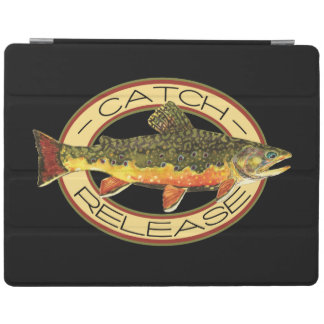 Catch and Release Trout Fishing iPad Cover