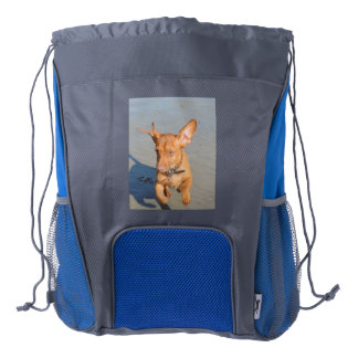 Catch Me If You Can Drawstring Backpack
