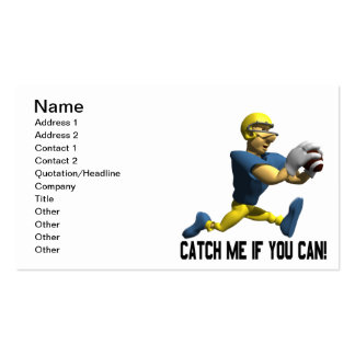 Catch Me If You Can Pack Of Standard Business Cards