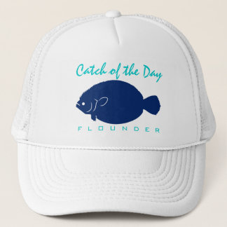 Catch of the Day - Flounder Fishing Hat