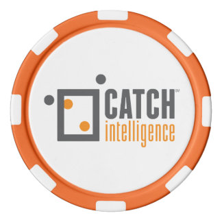 CATCH - Poker Chip Orange
