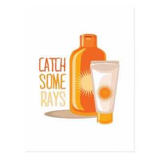 Catch Some Rays Postcard
