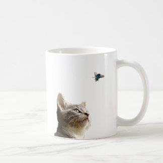 Catch that Fly Kitty Cat! Coffee Mug