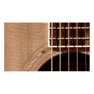 Catch the Rhythm - Sepia CloseUp 1 Business Card