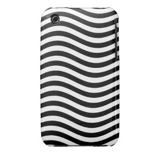 CATCH THE WAVE - BLACK ~ ~ iPhone 3 CASE