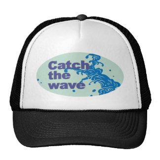 catch the wave trucker hat
