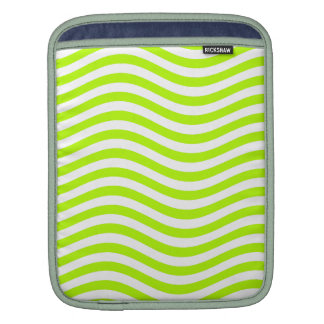 CATCH THE WAVE - LIME GREEN ~ ~ iPad SLEEVES
