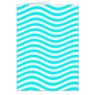CATCH THE WAVE - PASTEL MINT ~ ~ GREETING CARD