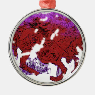 Catcher in the Rye carousel Metal Ornament
