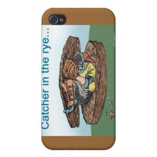 Catcher In The Rye Funny Cards Mugs Gifts Etc iPhone 4 Covers