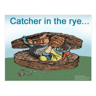 Catcher In The Rye Funny Tees Cards Mugs Gifts Etc