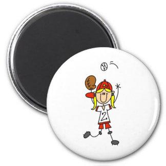 Catching A Softball Magnet