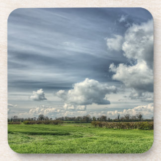Catching Clouds (color HDR) Coasters