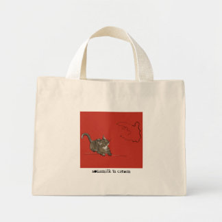Catching Gnats Small Tote Bags