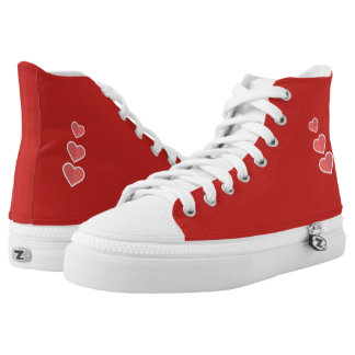 Catchy cute high top shoes
