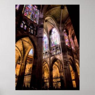 Catedral de Santa Maria de Regla de Leon Poster