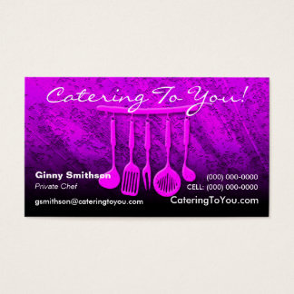 Caterer / Catering Business Card