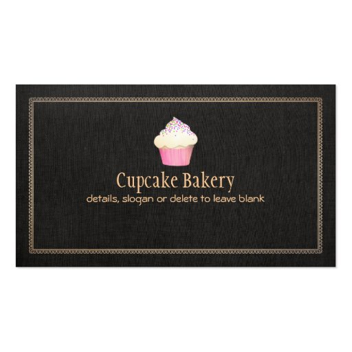 Catering Cupcake Bakery Pastry Chef Business Cards