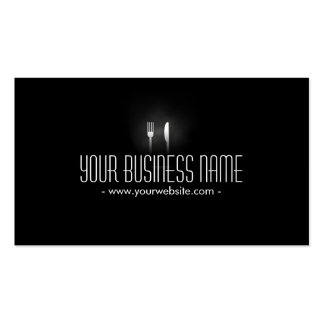 Catering Professional Dining Tools Modern Pack Of Standard Business Cards