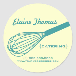 Catering Whisk Stickers