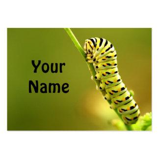 caterpillar business card template