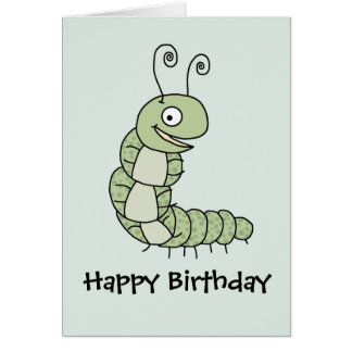 Caterpillar Card
