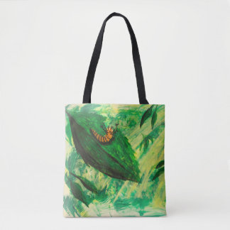 Caterpillar Lunch Time Tote Bag