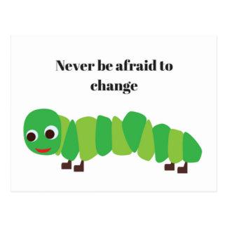 Caterpillar Postcard Greeting Card