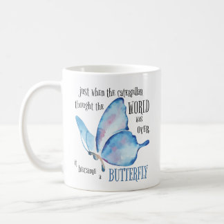 Caterpillar to Butterfly Mug