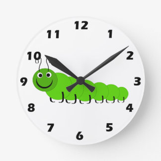 Caterpillar Wall Clock