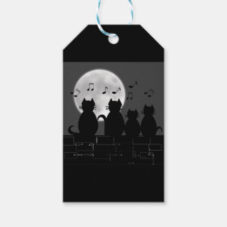 Caterwauling by moonlight gift tags