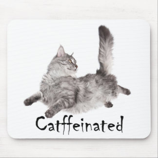 Catffeinated Mousepad