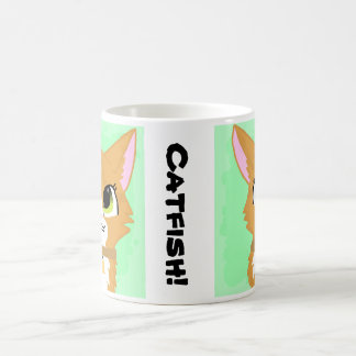 Catfish the Cat Coffee Mug