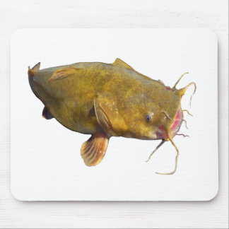 Catfishing Fishing Mouse Pad