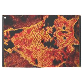 Catflagration iPad Case