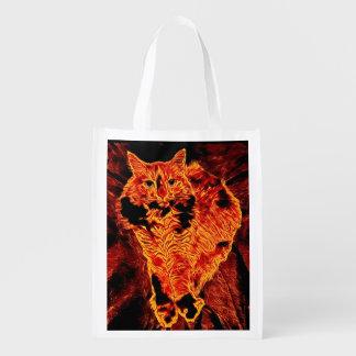 Catflagration Reusable Bag