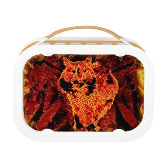 Catflagration Yubo Lunchbox